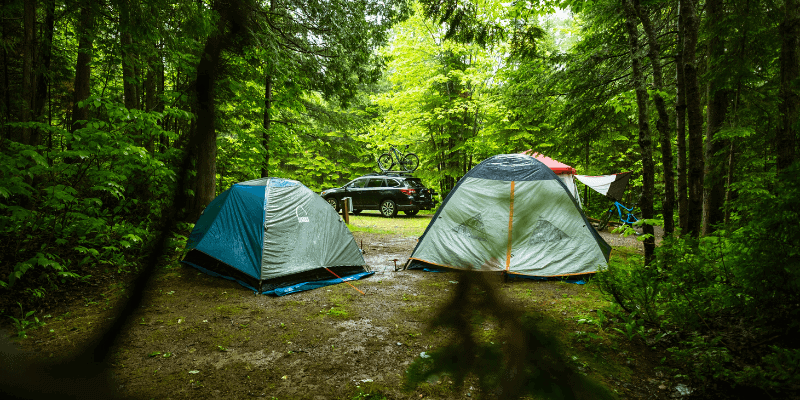 tent for rain