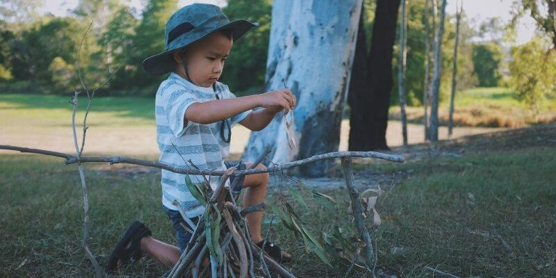camping with kids 1