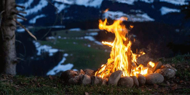 how to make campfire