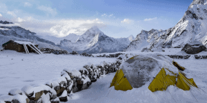 insulate tent winter camping
